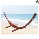 Supporto telaio universale per amaca singola in legno con portata 150 kg