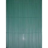 Pz 2 -  arella doppia ''bamboo'' in pvc mt.1,0x3 verde