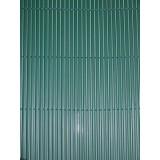 Pz 2 -  arella doppia ''bamboo'' in pvc mt.1,5x3 verde