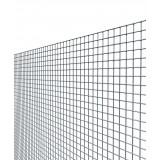 Rete recinzione maglia mm 12x12 diametro filo mm 1,45 altezza cm 80 rotolo m 25