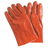 Pa 12 -  guanti antiacido rossi cm.35