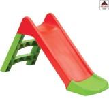 Scivolo per bambini da giardino esterno gioco in plastica con scaletta 2 gradini
