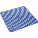 Gedy art.975353 tappeto doccia antimuffa pvc geo cm.53x53 blu