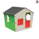 Casa casetta per bambini da giardino gioco esterno in plastica asilo casa bimbi