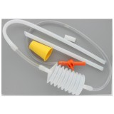 Travasatore polmone c/rubinetto farfalla