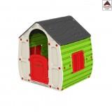 Casa casetta per bambini da giardino gioco esterno in resina asilo casa bimbi