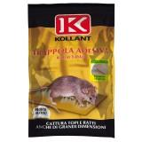 Topicida 2 tavolette 19x28 cattura topi trappola per ratti