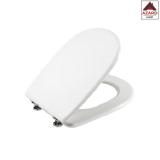 Copriwater in legno sedile tavoletta copri asse wc water bianco mod.Aretusa