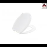 Sedile copriwater serie Ambra wc plastica bianco copri tavoletta water 37,5x46,5