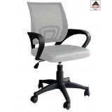 Poltrona da ufficio pc sedia ergonomica girevole pc schienale tessuto antisudore