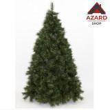 Albero di natale 270 cm verde realistico folto artificiale  2728 rami d. 175 cm