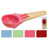 Cucchiaio Per Gelato 19 Cm Plastica 4 Colori Ass Cucina Accessori