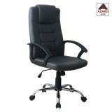 Poltrona sedia per ufficio presidenziale ergonimica girevole direzionale nera