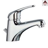 Miscelatore rubinetto bagno lavabo lavandino monocomando moderno ottone cromato