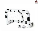 Porta da calcio per bambini gonfiabile con palloni rete gioco calcetto giardino