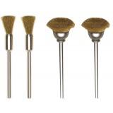 Proxxon 28961 'fig.22' spazzole ottone mm.8