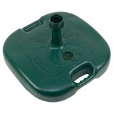 Pz 6 -  base ombrellone pvc cm.45x45 tubo diam.35