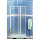 Porta scorrevole x doccia 112/118 bianca h.185 crilex