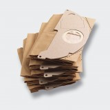 Sacchetti filtro carta pz.5 x karcher mod.mv2