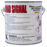 Spartitraffico 'icoroad' bianco da kg.5