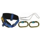 Cinturone di protezione c/corda + moschettone