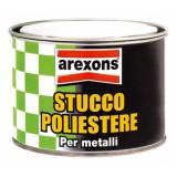Stucco poliestere per metalli gr.800