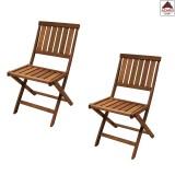 PZ 2 - sedia pieghevole poltrona giardino in legno sedie richiudibili da esterno