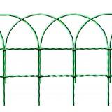 Rete ornamentale altezza 90 cm colore verde zincato e plasticato rotolo da 25 m