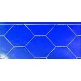 Rete recinzione tripla torsione maglia mm 16 altezza cm 100 rotolo ml 50