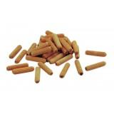 Spine legno zigrinato mm. 8x35 in cf.1000 pz.