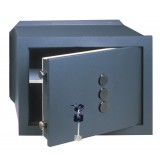 Cassaforte a muro CISA con combinazione meccanica C Key 3 cm.36x24x20