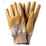 Pa 12 -  guanti nitrile giallo c/pol.tg. 7 rif.72160