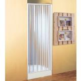 Box doccia a soffietto nicchia 90/100 pvc riducibile reversibile riducibile