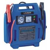 Jump starter power 1600 avviamento batteria auto + compressore