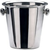 Abert secchio champagne cm.21.5x21h basic in acciaio portabottiglie glass