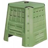 Compostiera da giardino esterno 380L foglie bio compost bidone compostaggio verde