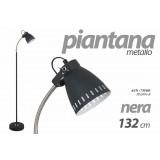 PIANTANA BASE METALLO CAMERA UFFICIO REGOLABILE CM 132 H NERA