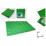 Telo copritutto plastica impermeabile 3x4  mt con occhielli