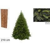 Albero di natale pino los angeles 210cm