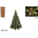 Albero di natale pino rustico art.oq40e-r233c 120cm