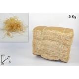 Decorazione truciolo legno conf.5 kg addobbi natale presepe