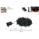 Minilucciole 480 led in scatola uso interno bianco caldo yc-31led-480-ww-ip20