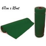 Rotolo passatoia tappeto natale colore verde 67 cm x 25 mt green