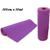 Rotolo tappeto passatoia natale colore lilla 100 cm x 10 mt