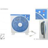 Ventilatore da tavolo 30 cm con velocita regolabile e timer