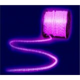 Mt 50 -  natale 50 tubo led 30 luci/metro bianco caldo