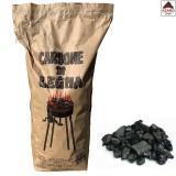 Carbonella per barbecue di faggio carbone attivo bbq sacco kg 5 pezzi grandi