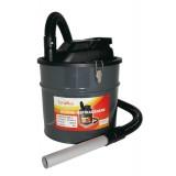 Bidone aspiracenere 'fuocovivo' fusto in metallo lt. 20 potenza 1200 w