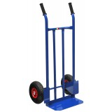 Carrello portacasse 2 ruote pneumatiche portata 250 kg