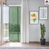 Tenda zanzariera magnetica 140x240 finestra porta balcone verde con calamita